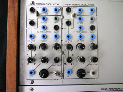 Bank 2 New Timbral Oscilators